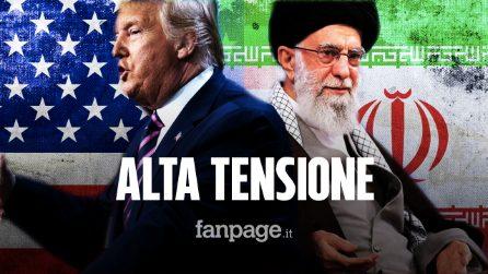 美国和伊朗德黑兰之间的索莱马尼死亡冲突加剧