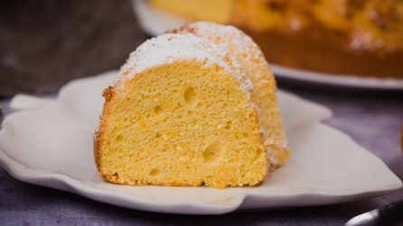 Tangerine cake: a wonderful recipe with only 6 ingredients!