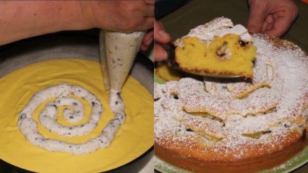 Torta vortice con ricotta e cioccolato: una bontà unica e semplice da preparare