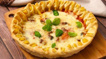 Pizza girasole: la ricetta originale perfetta per una cena sfiziosa e saporita!