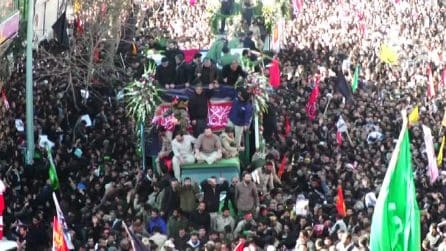Ressa alla sepoltura di Soleimani in Iran: 35 morti