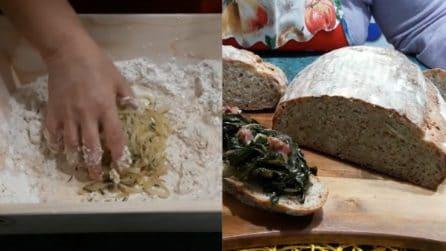 Pane integrale alle cipolle: la ricetta per averlo soffice e delizioso