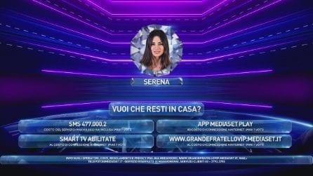 Serena Enardu chiede di entrare nella Casa, deciderà il pubblico con il televoto