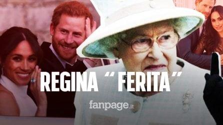 """Harry e Meghan lasciano la famiglia Reale, la Regina """"ferita"""" dall'annuncio: """"Questioni complicate"""""""