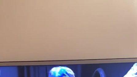 """Taylor Mega ad Antonella Elia che entra al Grande Fratello Vip 4: """"Questa l'entrata che meritavi"""""""