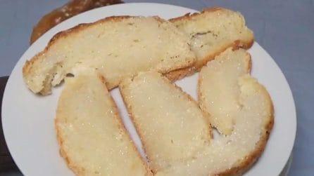 Pane con lo zucchero: la merenda semplice ma piena di gusto