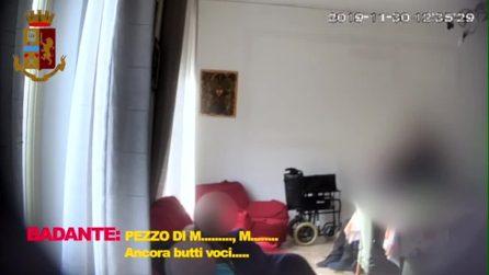 """Palermo, anziano disabile imbavagliato in casa di cura. Le intercettazioni: """"Maledetto vecchio"""""""