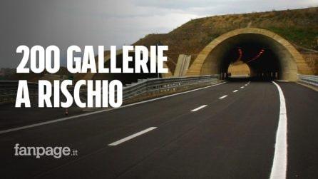 In Italia 200 gallerie sono a rischio crolli: l'allarme del Ministero delle Infrastrutture