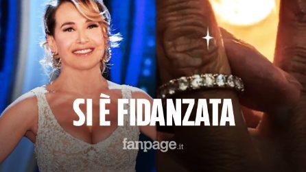 Barbara D'Urso si è fidanzata: in un video il dono dell'anello, è caccia all'uomo misterioso