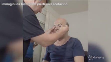 """Hammamet"", come Favino si trasforma in Craxi"