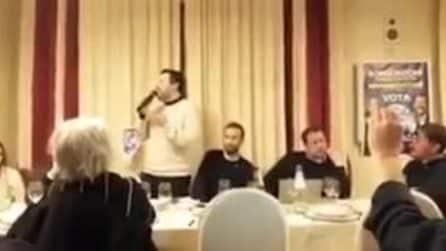 """Salvini attacca la Gazzetta di Reggio: """"Per me vale zero, come Fazio e Saviano"""""""