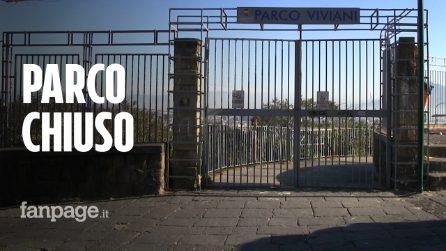 """Parco Viviani al Vomero ancora chiuso: """"Inaccettabile, è stato inaugurato appena 2 anni fa"""""""