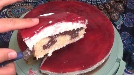 Cheesecake alle amarene: la ricetta del cremoso dessert