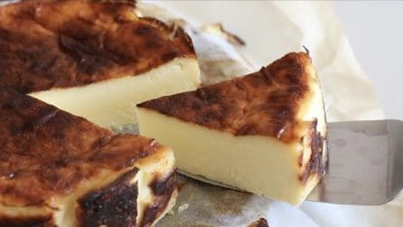 Cheesecake senza base: la ricetta del dessert davvero goloso