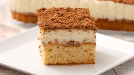 Caramel fluffy squares: they are simply addictive!