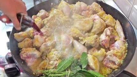 Coniglio in padella con sughetto aromatico: la ricetta del secondo piatto saporito