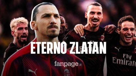 Ibrahimovic in gol a Cagliari: è nella Top Five dei bomber più anziani di sempre