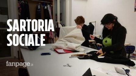 Soleinsieme, la sartoria sociale (in un bene confiscato) che dà lavoro a donne in difficoltà