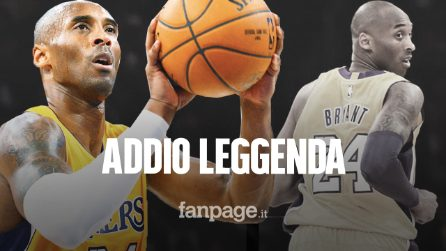 Morto Kobe Bryant: la leggenda della NBA ha perso la vita in un incidente in elicottero