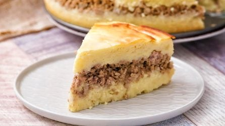 Potato and meat cake: everyone will love it!