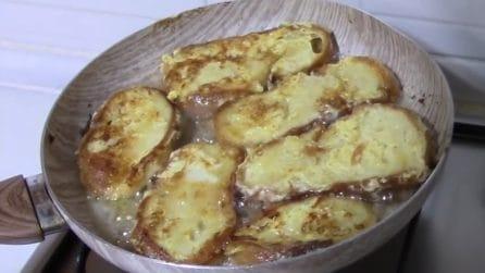 Frittelle di pane in salsa allo yogurt: una bontà semplice e veloce