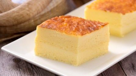 Torta cremosa: avrete bisogno solo di uova, latte e zucchero!