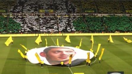 Nantes, commovente omaggio a Emiliano Sala