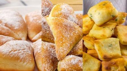 3 ricette sfiziose per un pane fritto soffice e saporito!