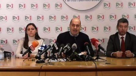 Zingaretti ringrazia le Sardine: scossa democratica per il Paese