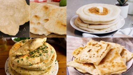 4 ricette facili per un pane in padella gonfio e saporito!