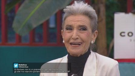 Barbara Alberti rientra nella Casa del GF Vip da concorrente