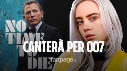 "Billie Eilish canterà la canzone d'apertura di ""007 No Time To Die"""