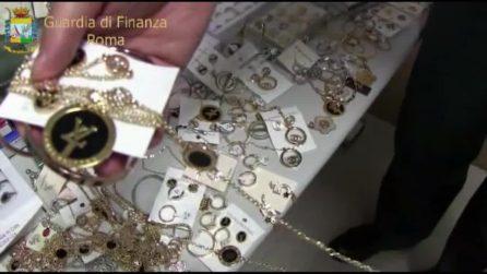 Roma, blitz in tre capannoni: sequestrati oltre quattro milioni di prodotti contraffatti