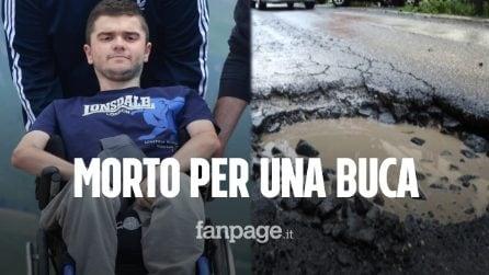 """Niccolò, 21enne disabile, morto in ospedale per la caduta in una buca: """"Voglio tornare a casa"""""""