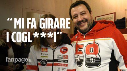 """Salvini con la felpa di Simoncelli, l'ex inviato MotoGP: """"Squallida campagna elettorale"""""""