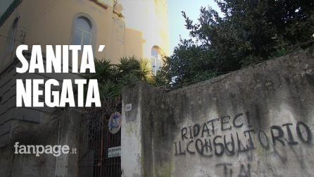 """Napoli, il consultorio Asl di Bagnoli è chiuso da 2 anni: """"Chi vive qui non ha strutture sanitarie"""""""