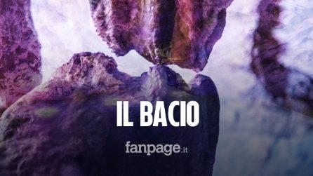 Il bacio dopo 20mila anni: stalattite e stalagmite si toccano, lo spettacolo alle Grotte di Pertosa