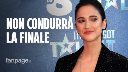 """Lodovica Comello non condurrà la finale di Italia's Got Talent: """"Il parto sarà in quei giorni"""""""