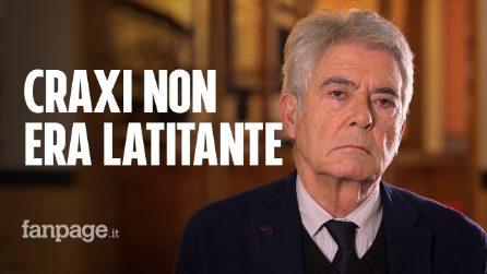 """Craxi, la verità di Claudio Martelli: """"Era di sinistra, e non era un latitante"""""""