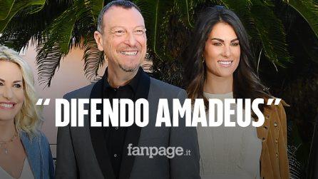 """Francesca Sofia Novello difende Amadeus: """"È stato frainteso, il suo Sanremo valorizza le donne"""""""