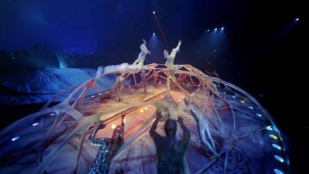 Cirque du Soleil Roma, Totem: il lungo viaggio della specie umana tra costumi ed effetti speciali
