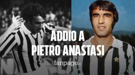 Addio a Pietro Anastasi, simbolo della Juve negli anni '70: si è spento a 71 anni