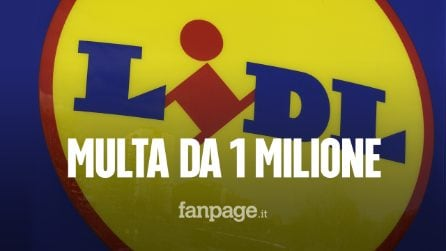 "Multa di un milione di euro a Lidl: ""Consumatori ingannati"". Il motivo"