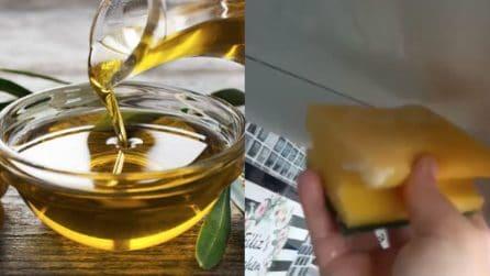 Usi alternativi dell'olio di oliva: provalo per la pulizia della tua cucina