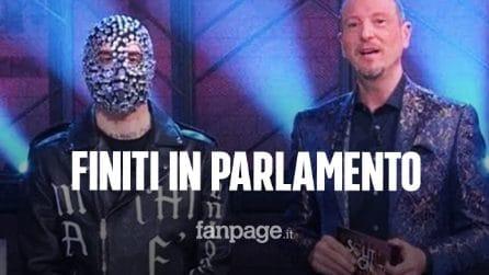 Sanremo finisce in parlamento, la lettera delle deputate contro Amadeus e Junior Cally