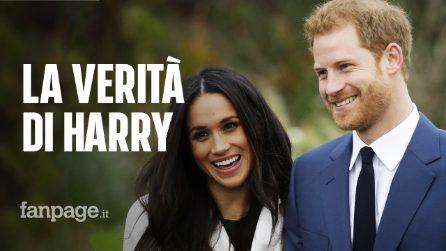 """Harry e la perdita del titolo reale: """"Il Regno Unito è casa mia, ma non c'era altra opzione"""""""