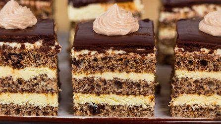 Quadrotti soffici crema e cioccolato fondente: la ricetta per un dessert goloso in pochi passi!