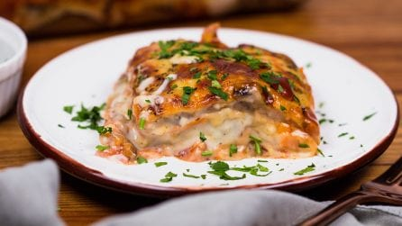 Vegetable lasagna: the result will surprise you!