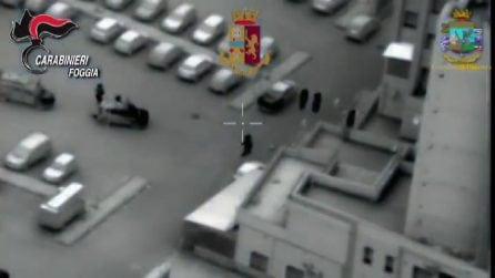 Foggia, maxi operazione forze dell'ordine: perquisizioni e fermi