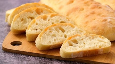 Ciabatta di pane: ecco come farlo in casa croccante fuori e morbido dentro!